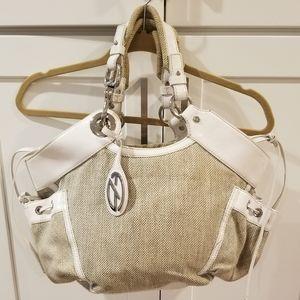 Francesco Biasia Handbag Tote Satchel GUC